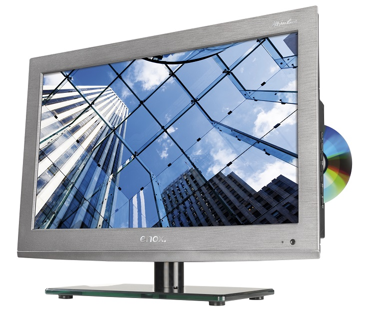 enox led tv 22 zoll full hd dvb t c s2 dvd 12 24 230. Black Bedroom Furniture Sets. Home Design Ideas