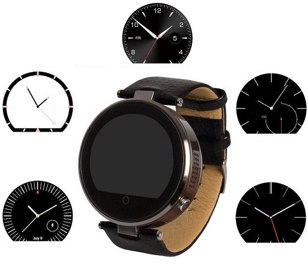 enox rsw55 bluetooth smartwatch rund design f r apple ios hamburg. Black Bedroom Furniture Sets. Home Design Ideas