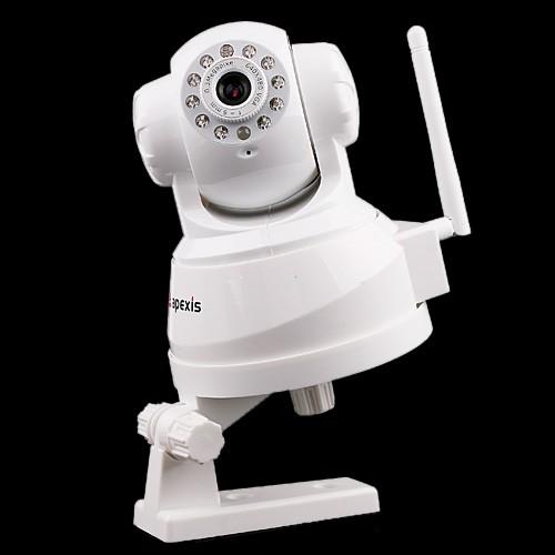 apexis ip internet dome kamera nachtsicht ir schwenkbar. Black Bedroom Furniture Sets. Home Design Ideas