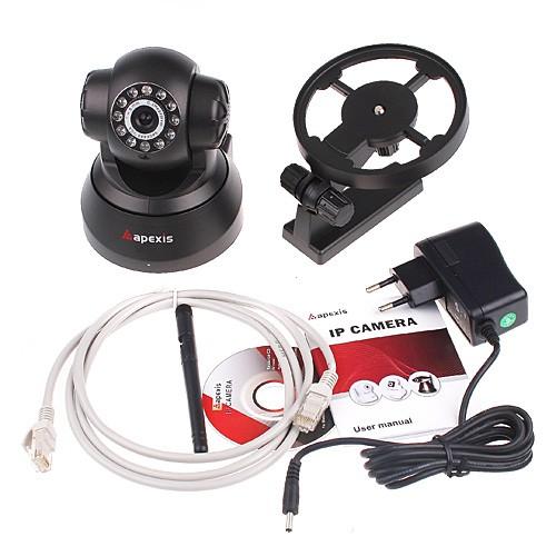 ip netzwerk berwachungskamera aufnahme ir nachtsicht wlan funk kamera alarm set. Black Bedroom Furniture Sets. Home Design Ideas
