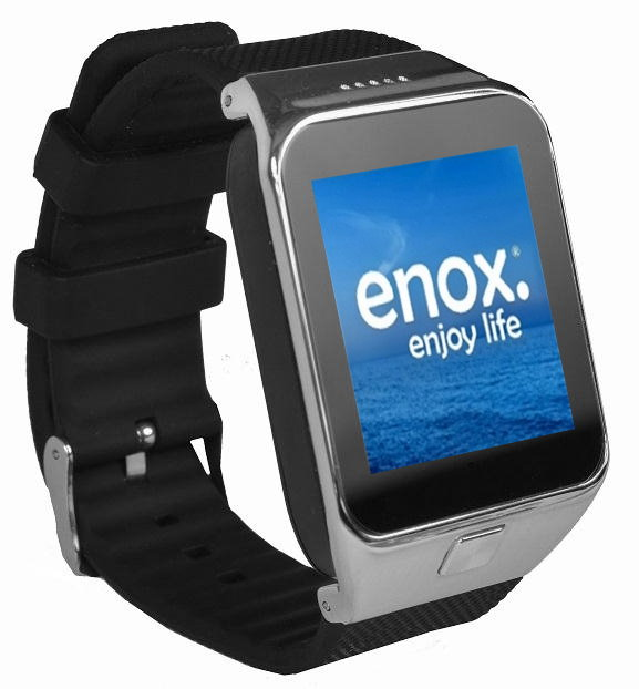 enox swp55 smartwatch smartphone handy fitness uhr sim. Black Bedroom Furniture Sets. Home Design Ideas
