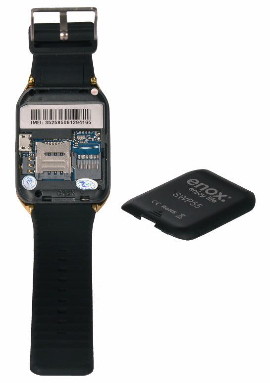 enox swp55 smartwatch smartphone handy fitness uhr sim karte 1 54 tft bluetooth ebay. Black Bedroom Furniture Sets. Home Design Ideas